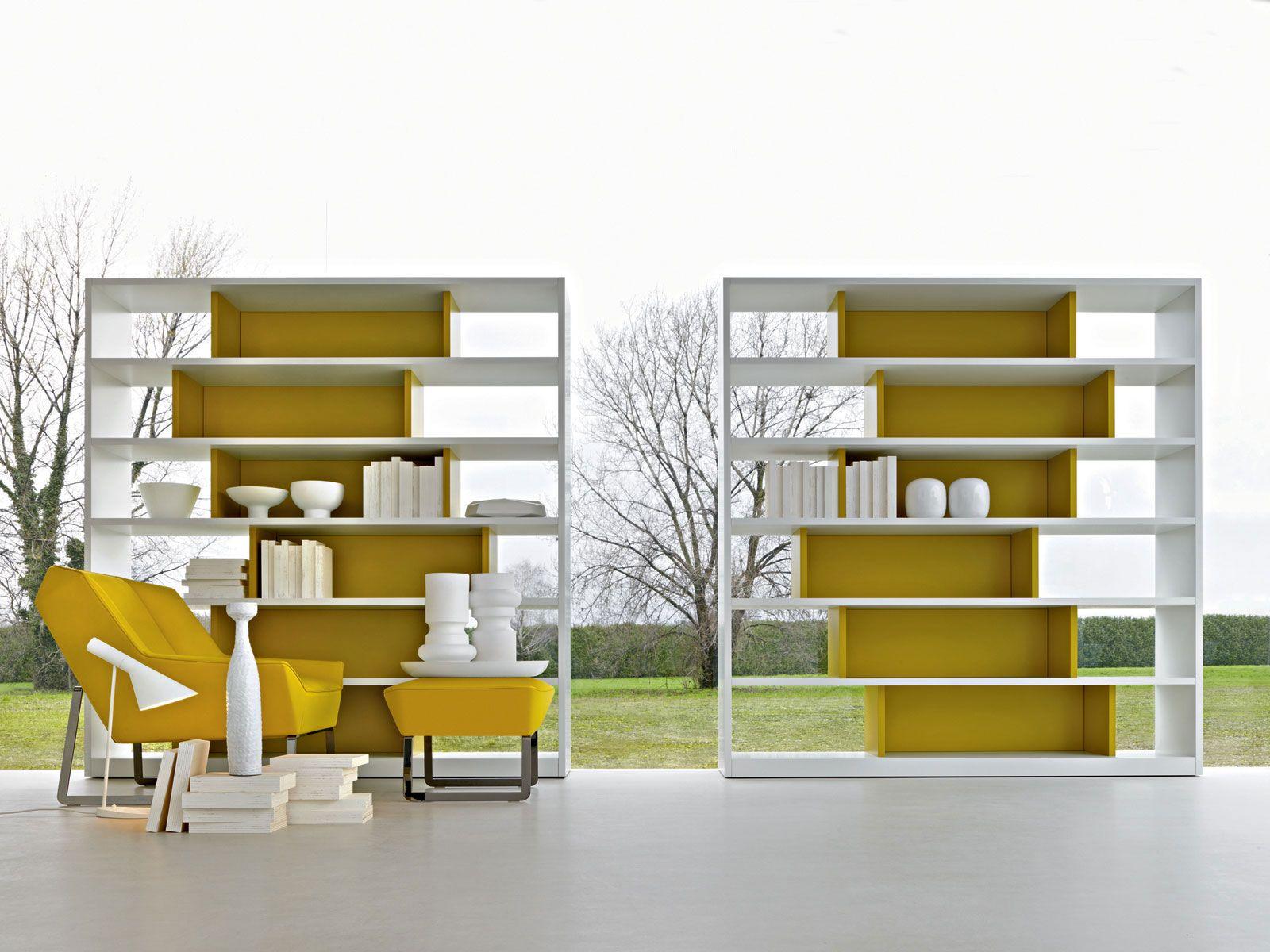 505 2011 ed libreria a giorno by molteni c design for Libreria molteni