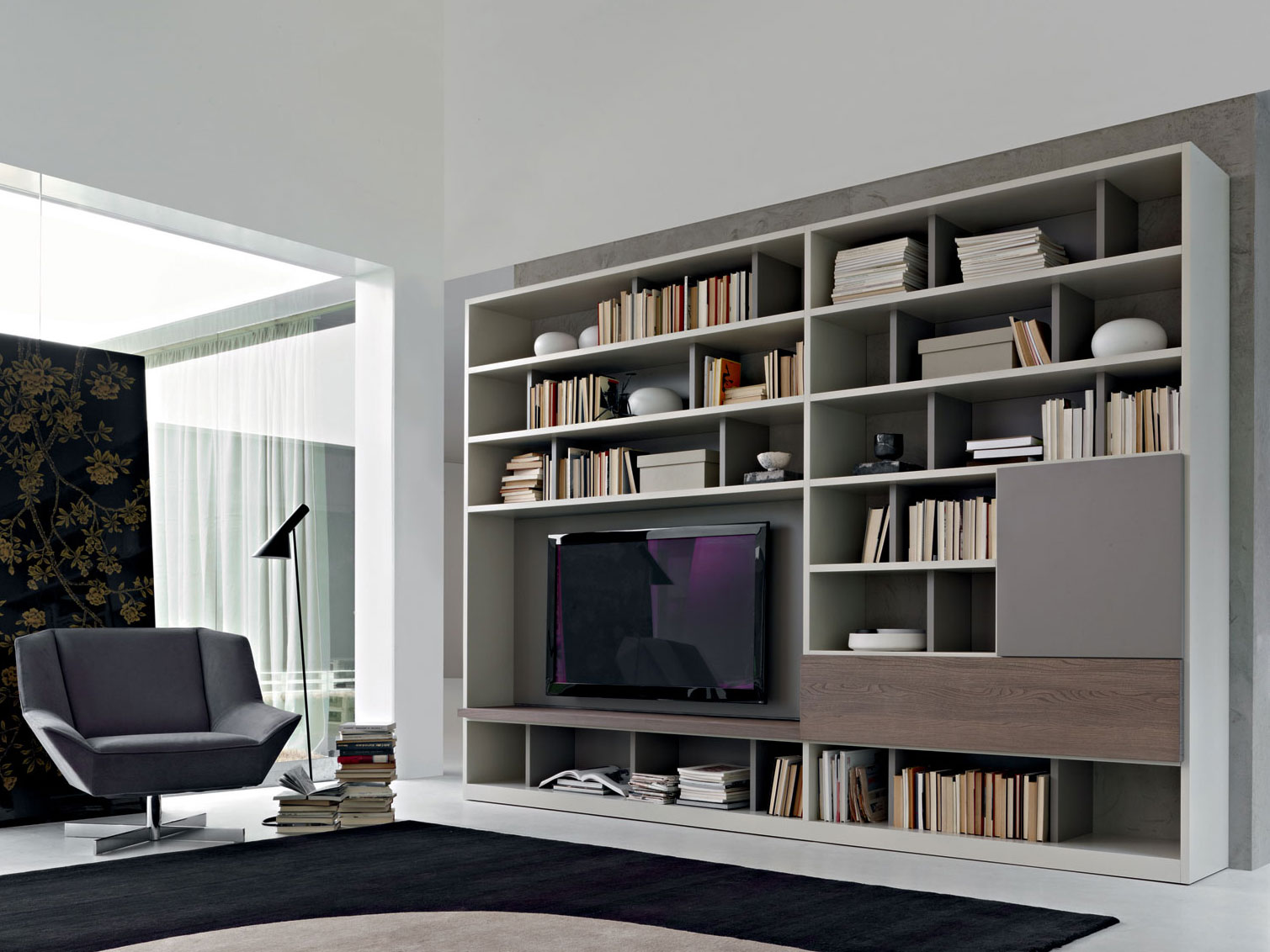 505 2011 ed mueble modular de pared by molteni c for Molteni catalogo