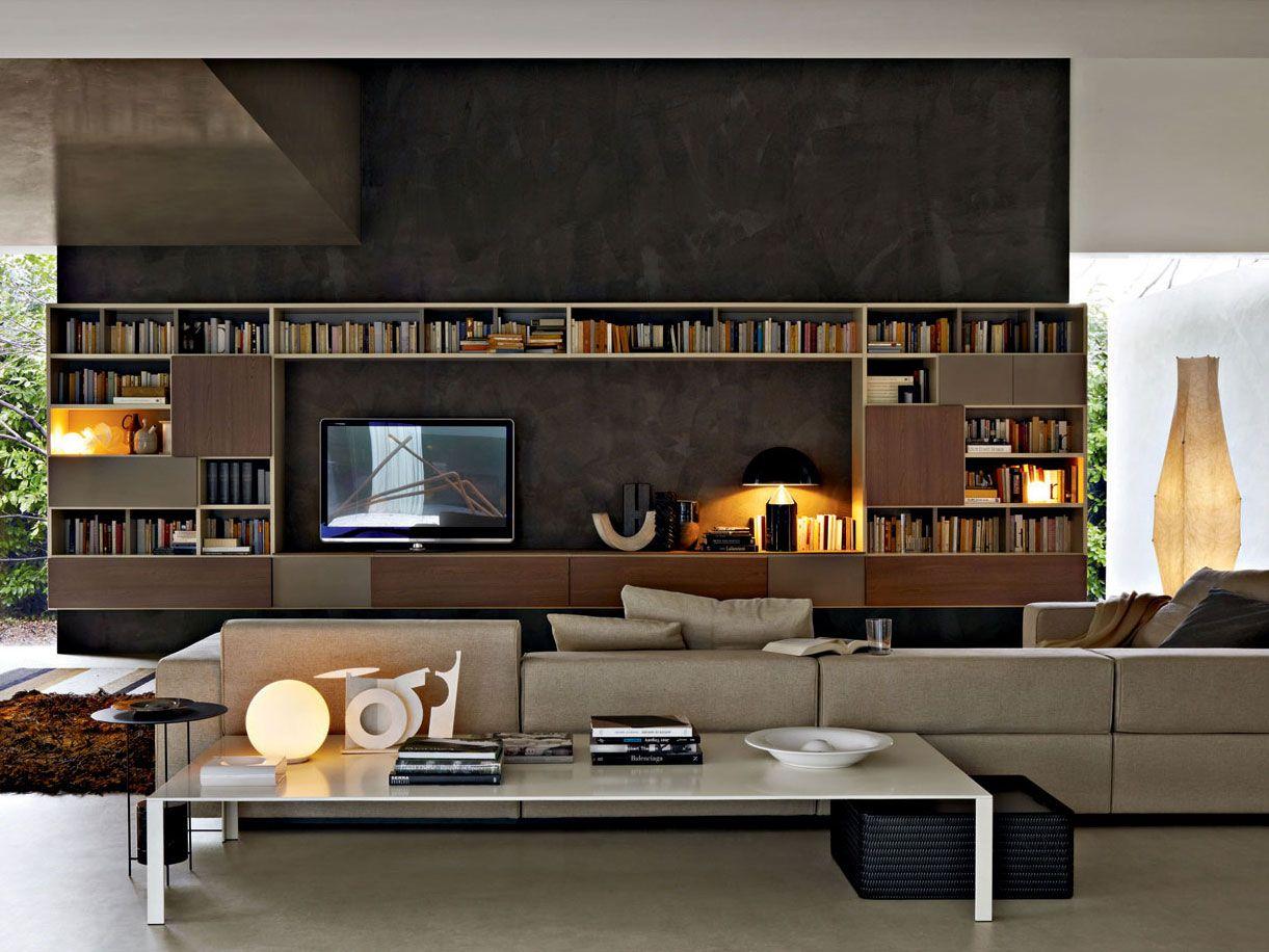 505 2011 ed parete attrezzata by molteni c design