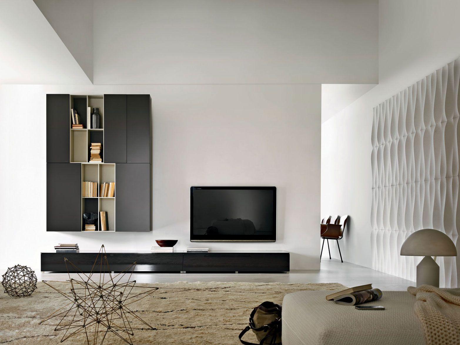 Ben noto Parete Tv Design ~ Ispirazione Interior Design & Idee Mobili WA67