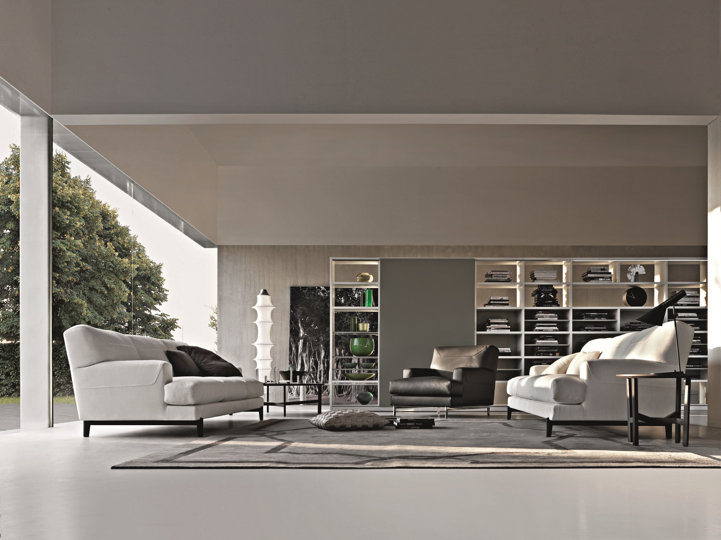 round coffee table quake by molteni c design arik levy. Black Bedroom Furniture Sets. Home Design Ideas