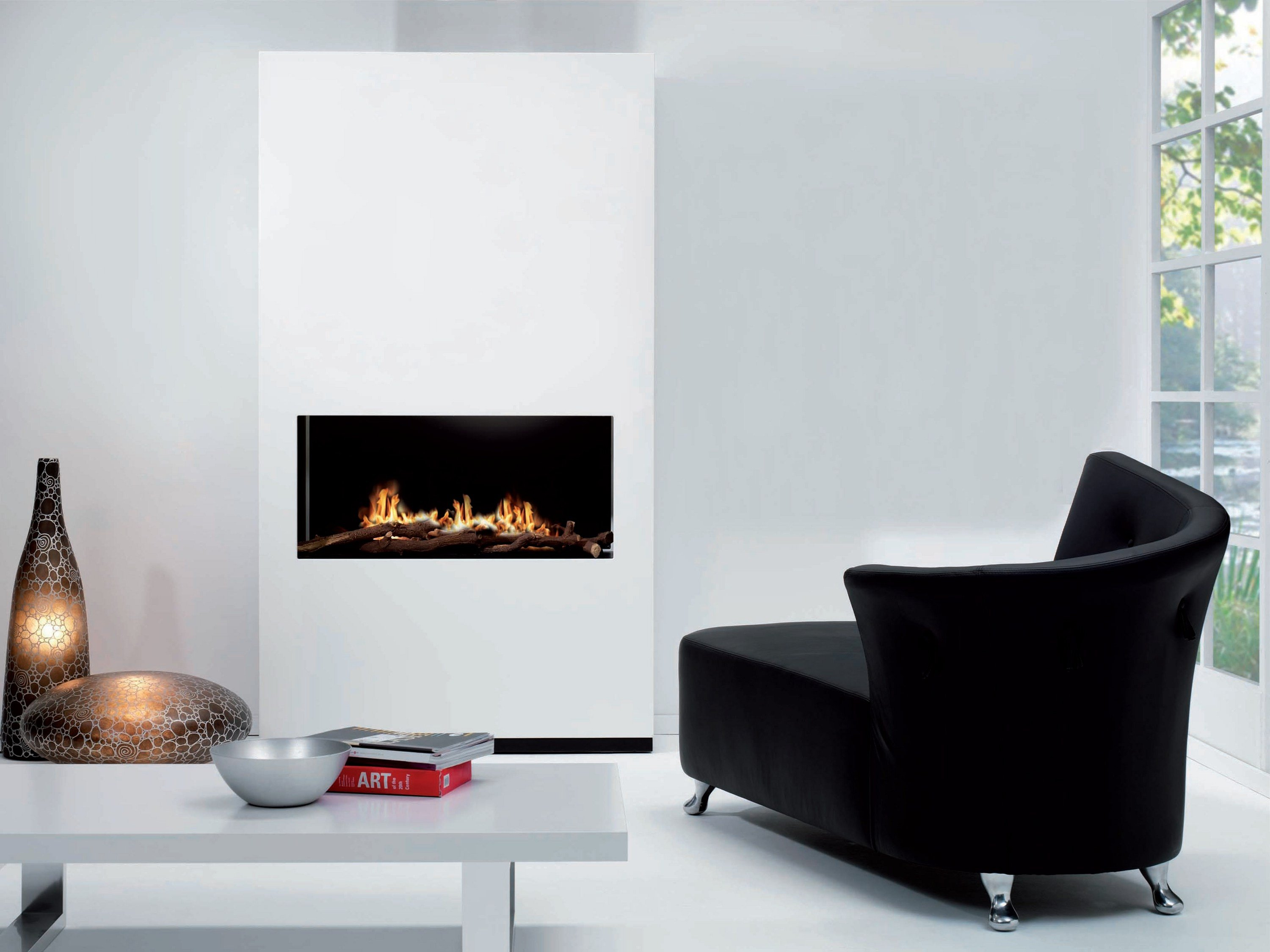 bioethanol wand kamin ambiance by british fires. Black Bedroom Furniture Sets. Home Design Ideas