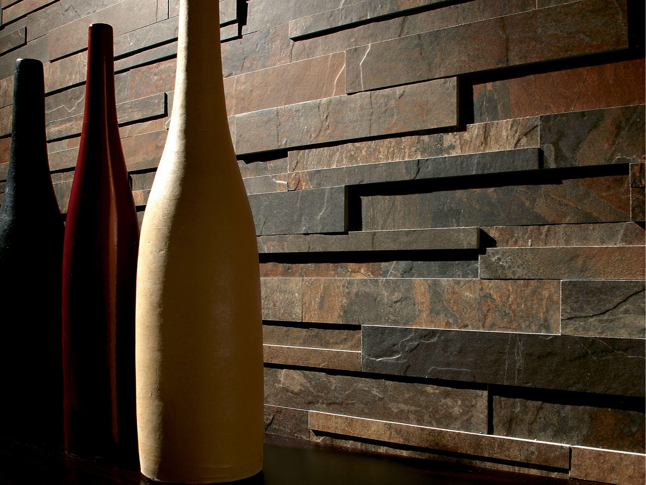 Slates revestimiento de pared imitaci n piedra by - Ceramica imitacion piedra ...