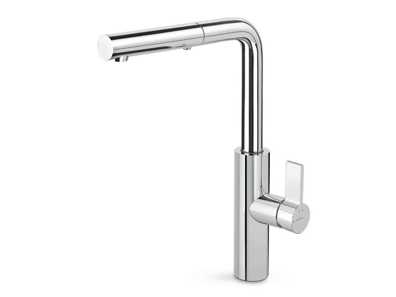 Libera kitchen miscelatore da cucina con doccetta estraibile by newform for Ikea rubinetti cucina