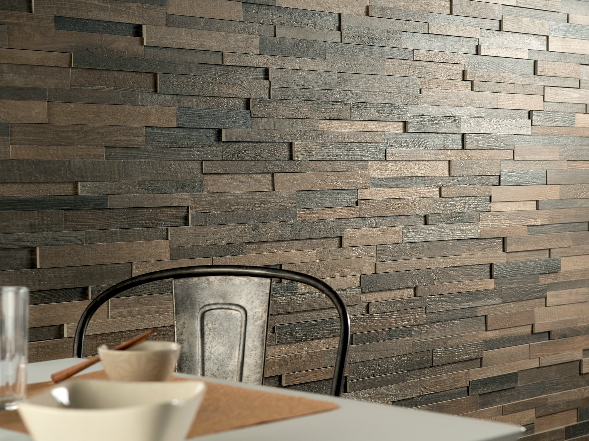 Cottage Wood Revestimiento De Pared Imitaci N Madera By