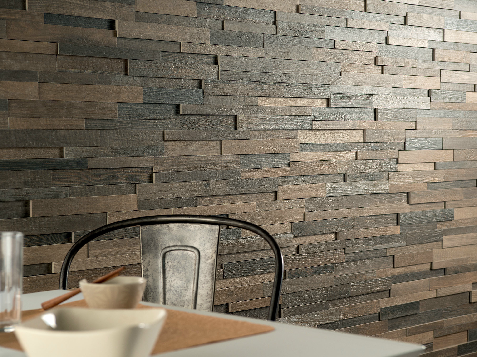 Cottage wood revestimiento de pared imitaci n madera by Revestimiento pared imitacion madera