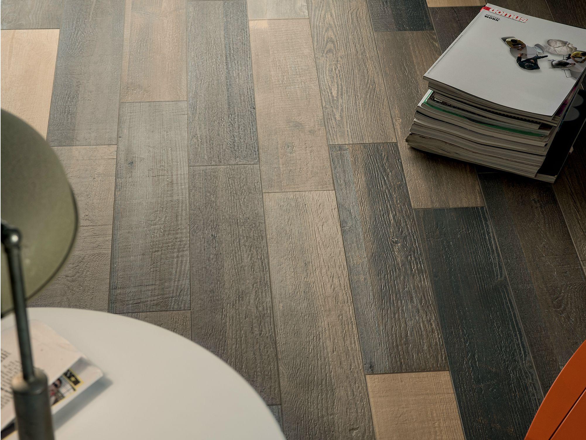 Cottage wood pavimento imitaci n madera by ceramica fioranese - Gres porcelanico imitacion madera ...