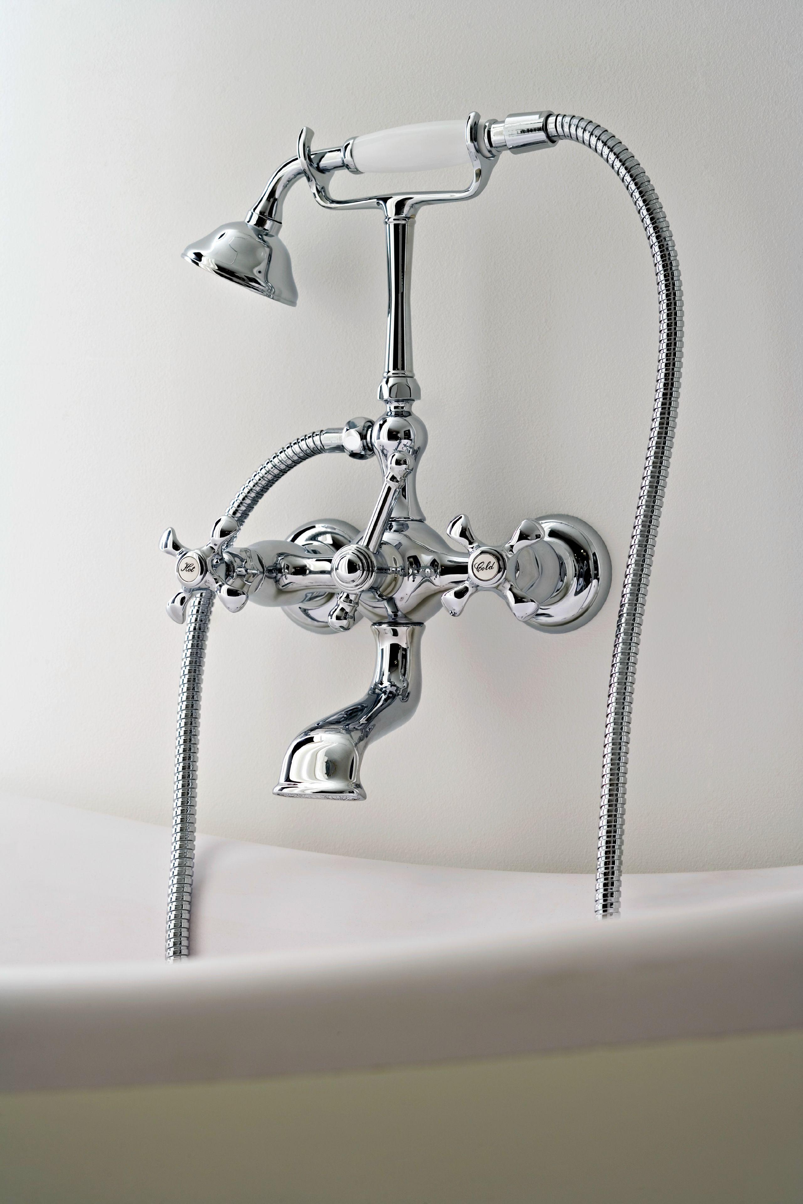 mão NUOVA RETRÒ Torneira para banheira de parede Rubinetterie 3M #4A5158 3160x4740