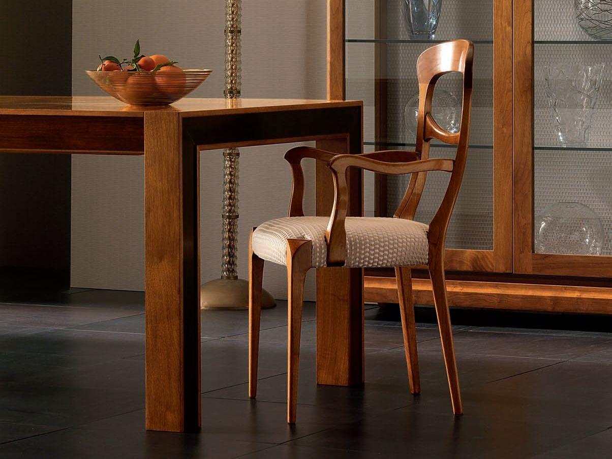 Sedie In Legno Con Braccioli : Sedie tavolo pranzo con braccioli bukadar galleria di