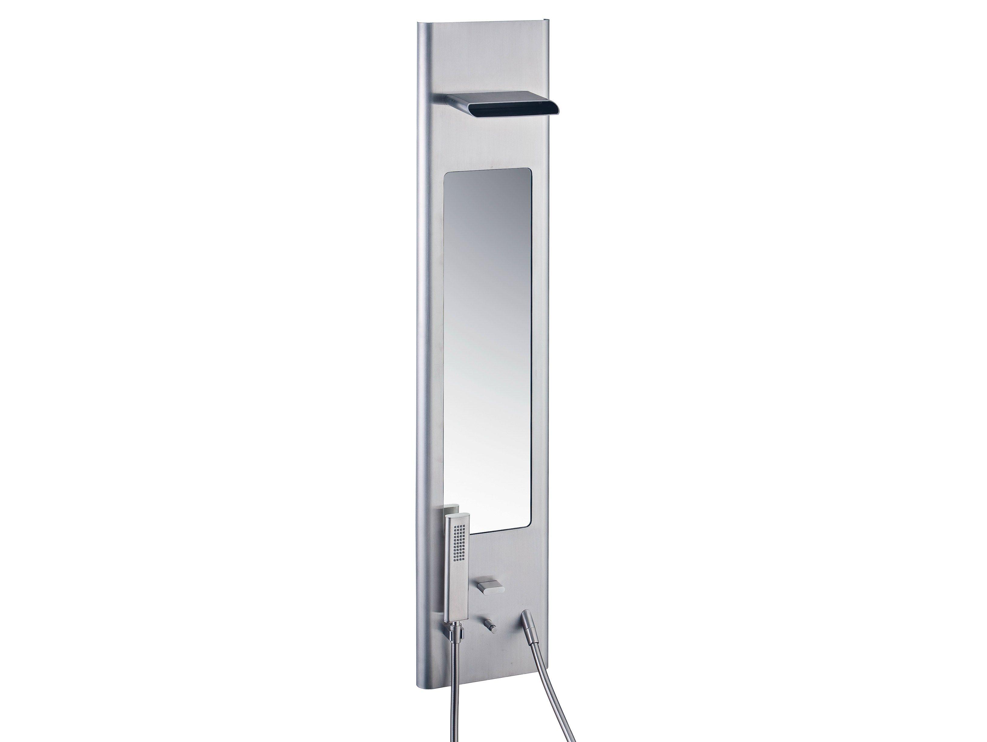 Pao spa colonne de douche by rubinetterie 3m design giancarlo vegni - Colonne de douche avec led ...