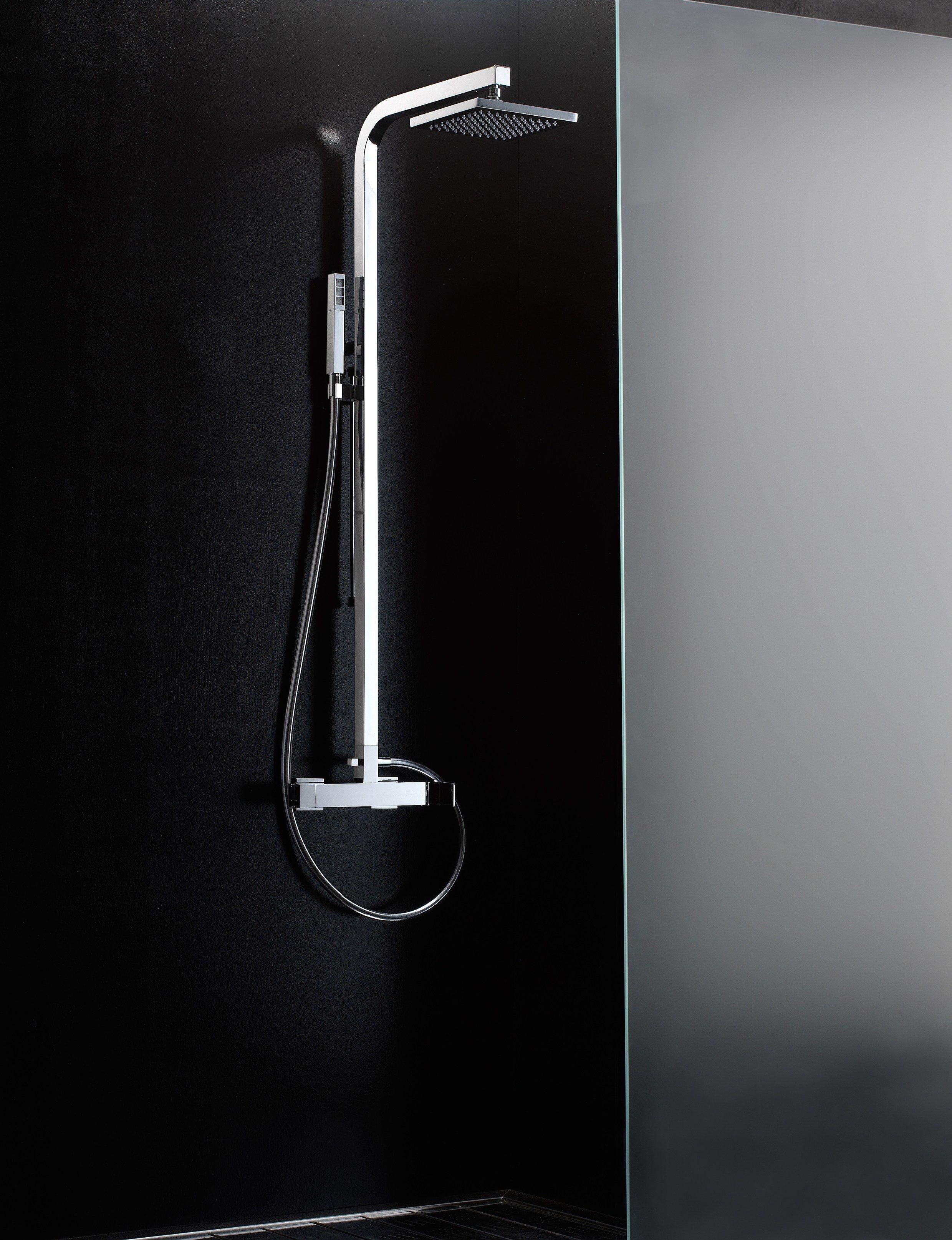 Q Colonna doccia con soffione by Rubinetterie 3M