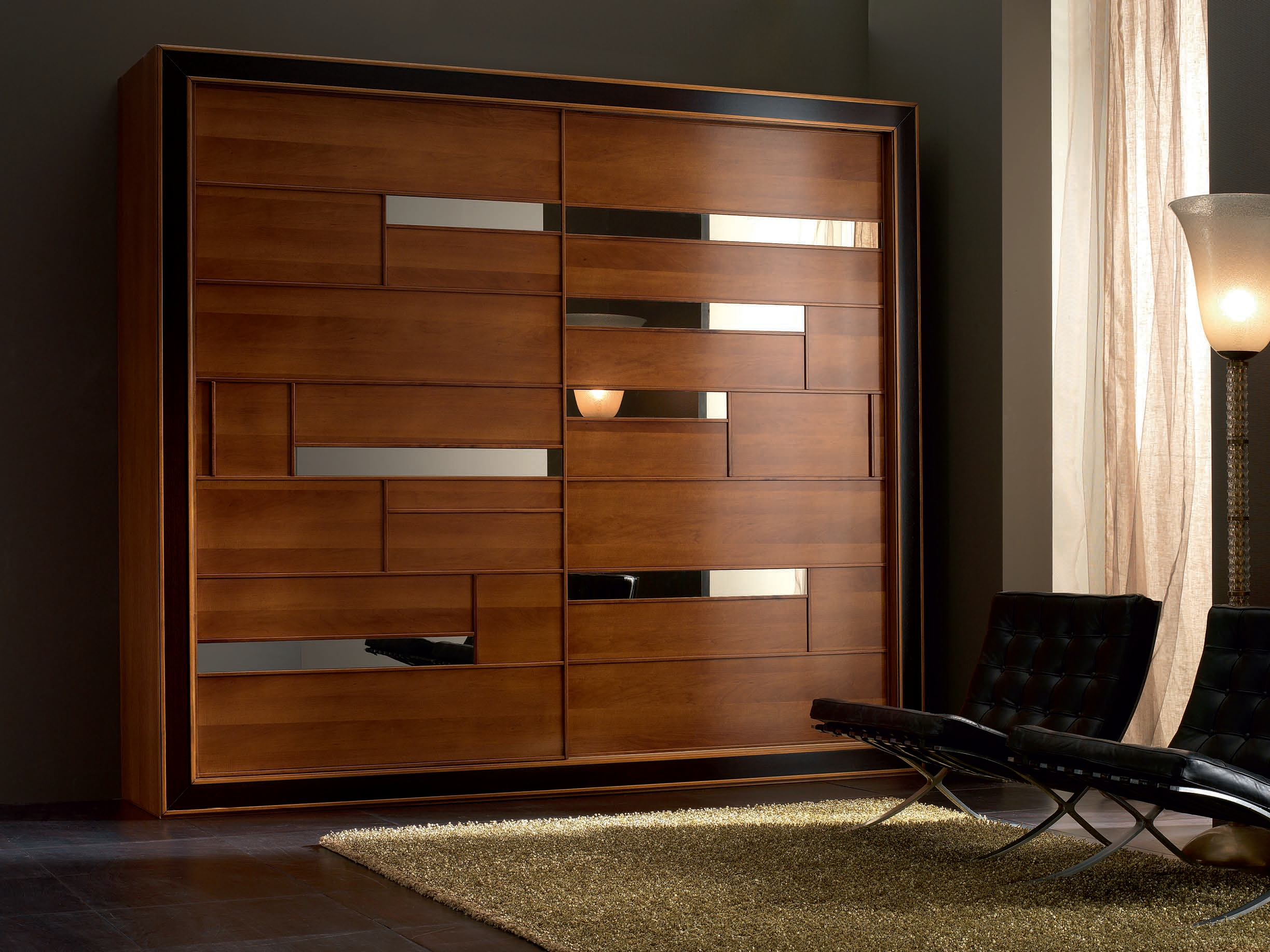 Elettra Night Solid Wood Wardrobe By Cantiero