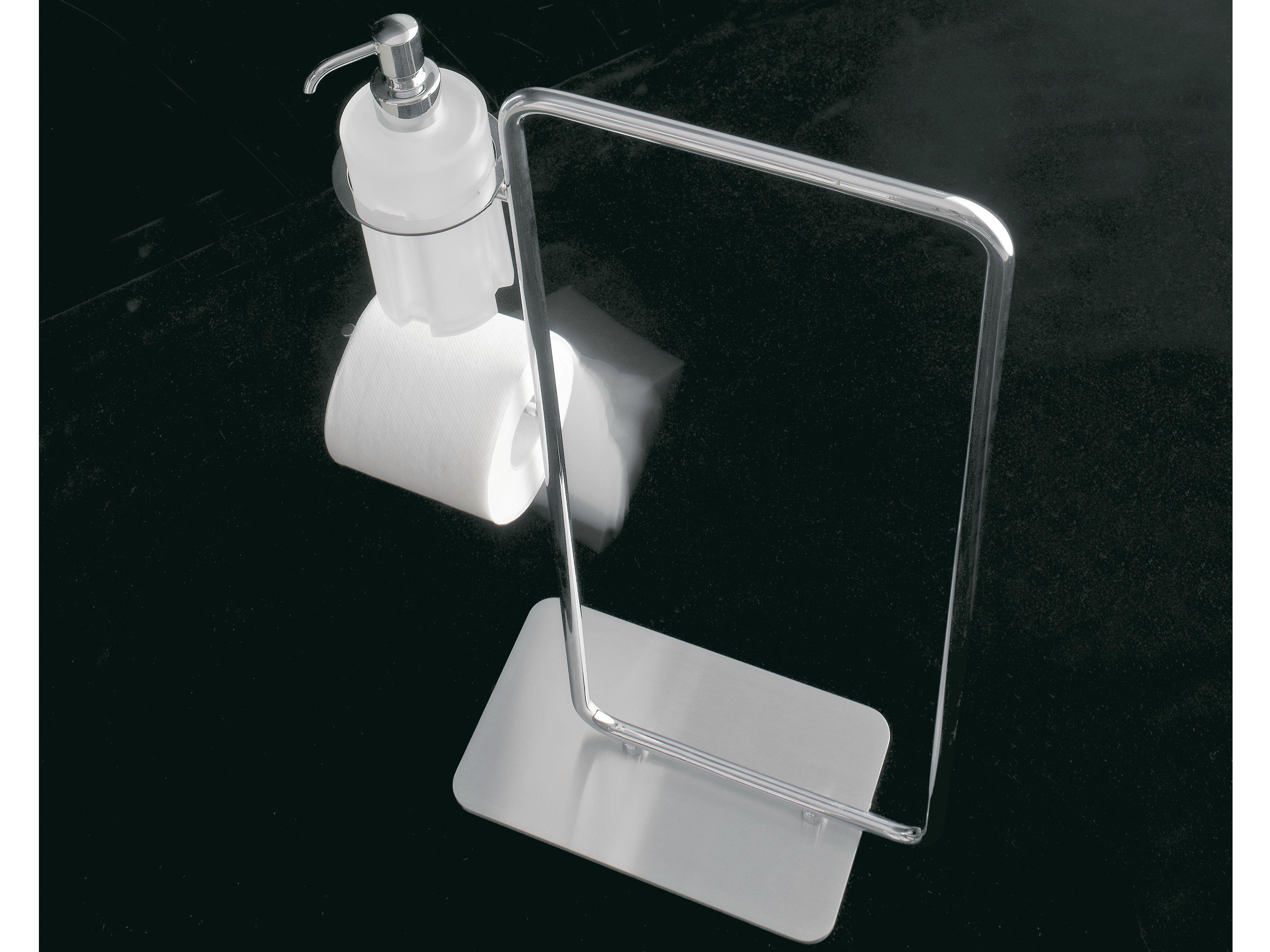 Porta asciugamani da terra collezione 8500 by rubinetterie 3m for Porta asciugamani da terra