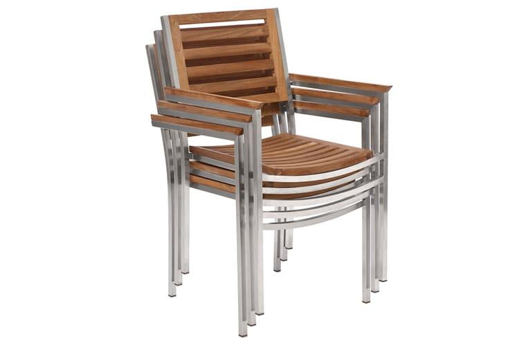 CENTENARY Teak garden chair by Il Giardino di Legno