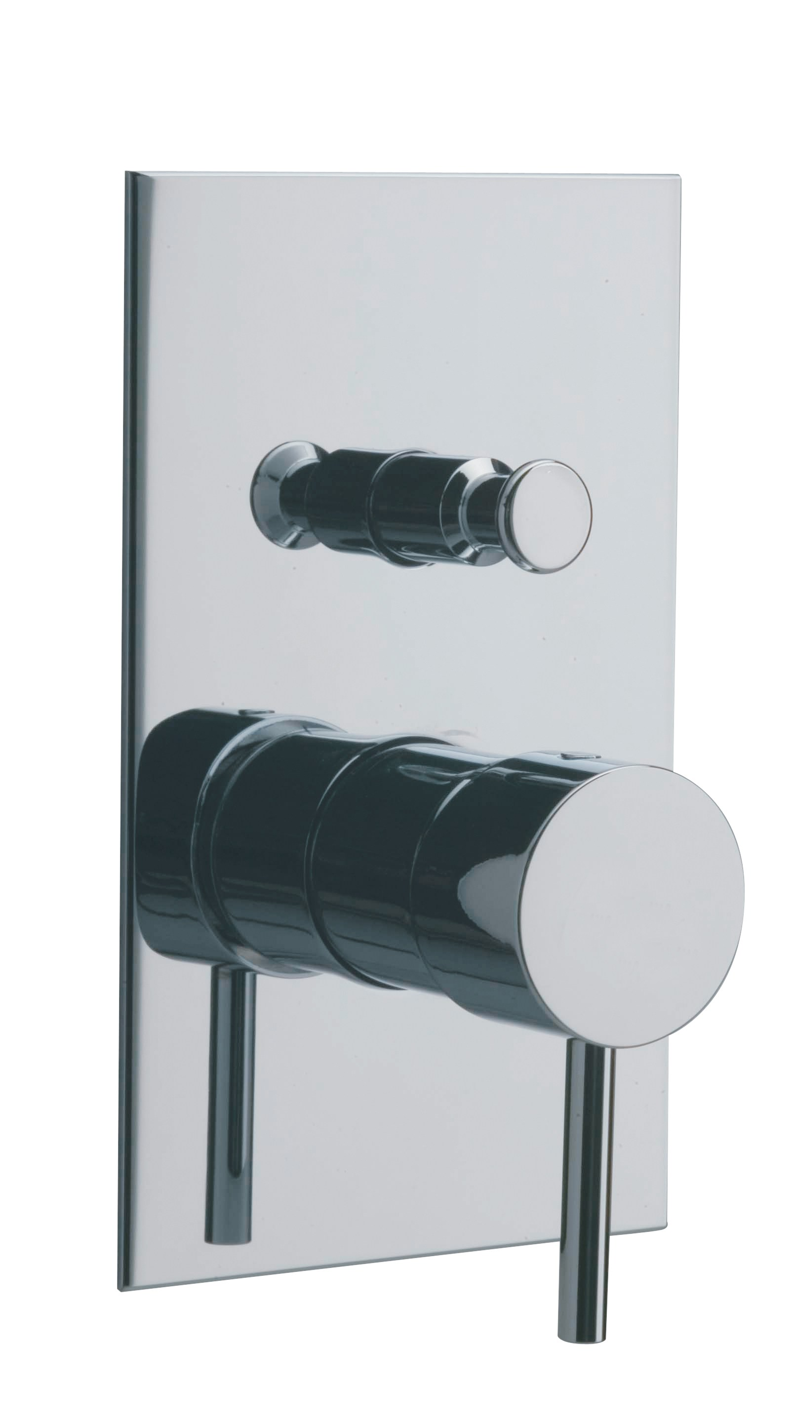 X Change Mono Shower Mixer With Plate By Rubinetterie 3m