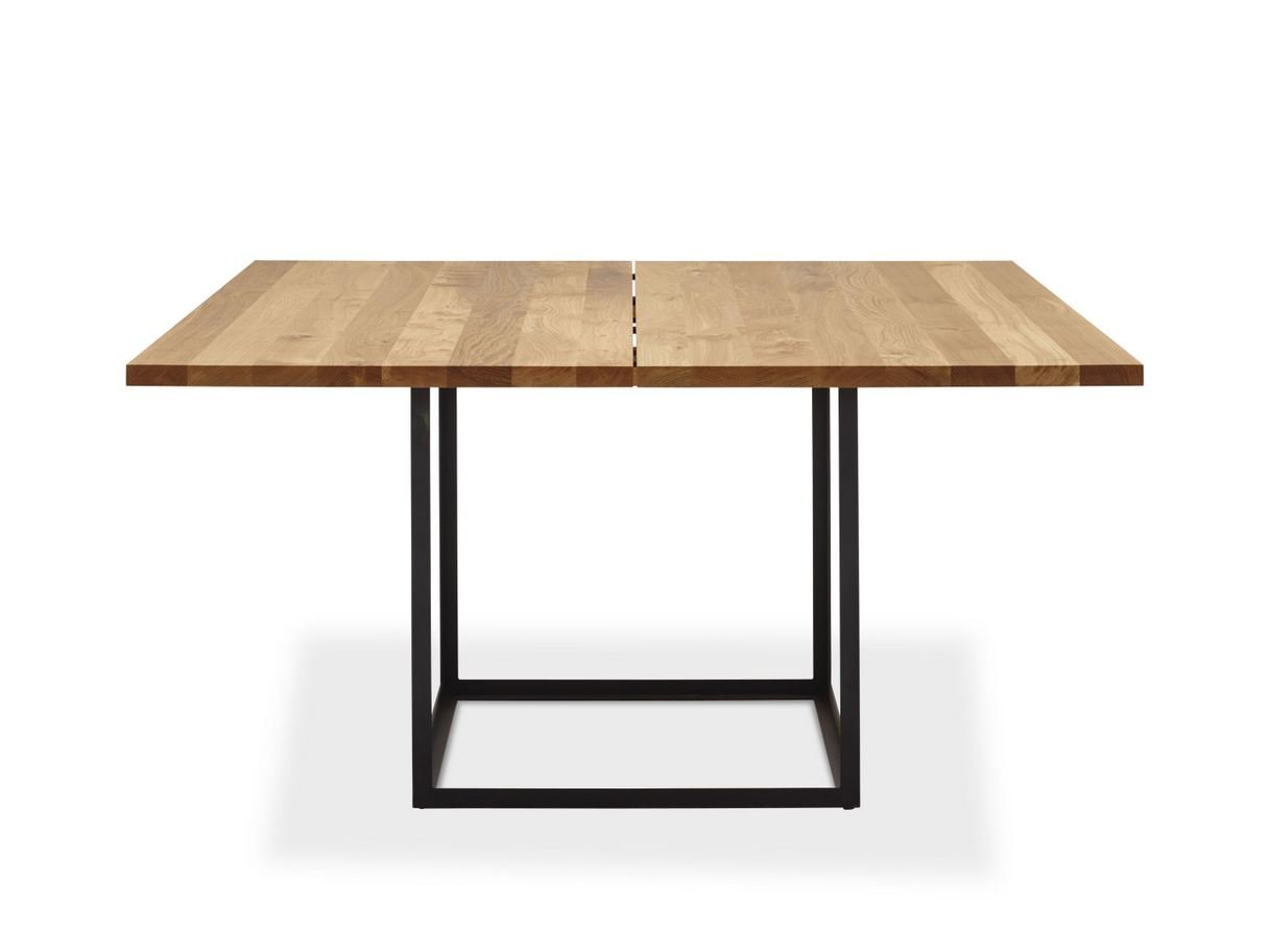Jewel table carr e by dk3 design s ren juul for Table carree 70x70 extensible