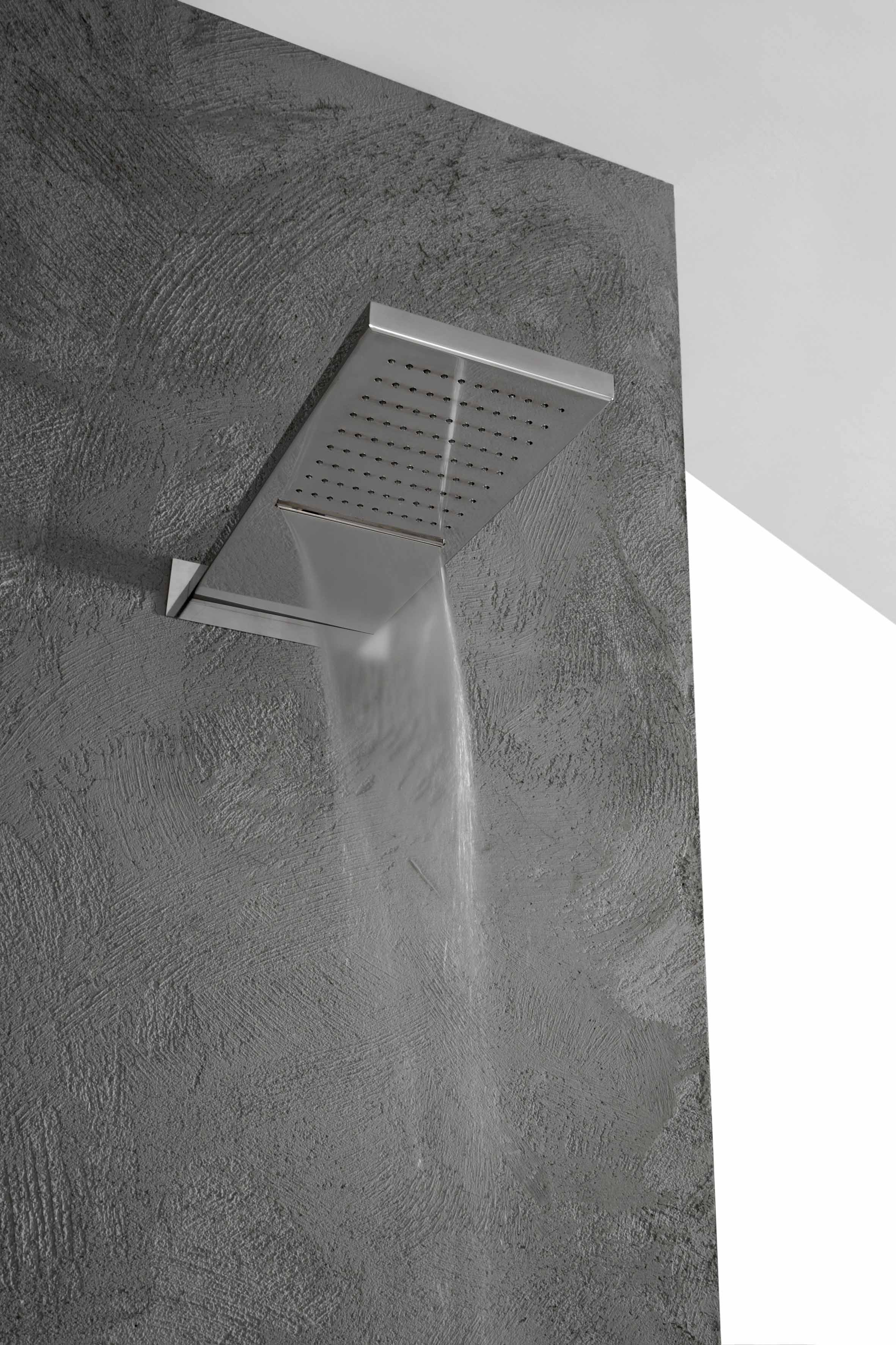 Wall Mounted Waterfall Shower Showers Line By Rubinetterie 3m