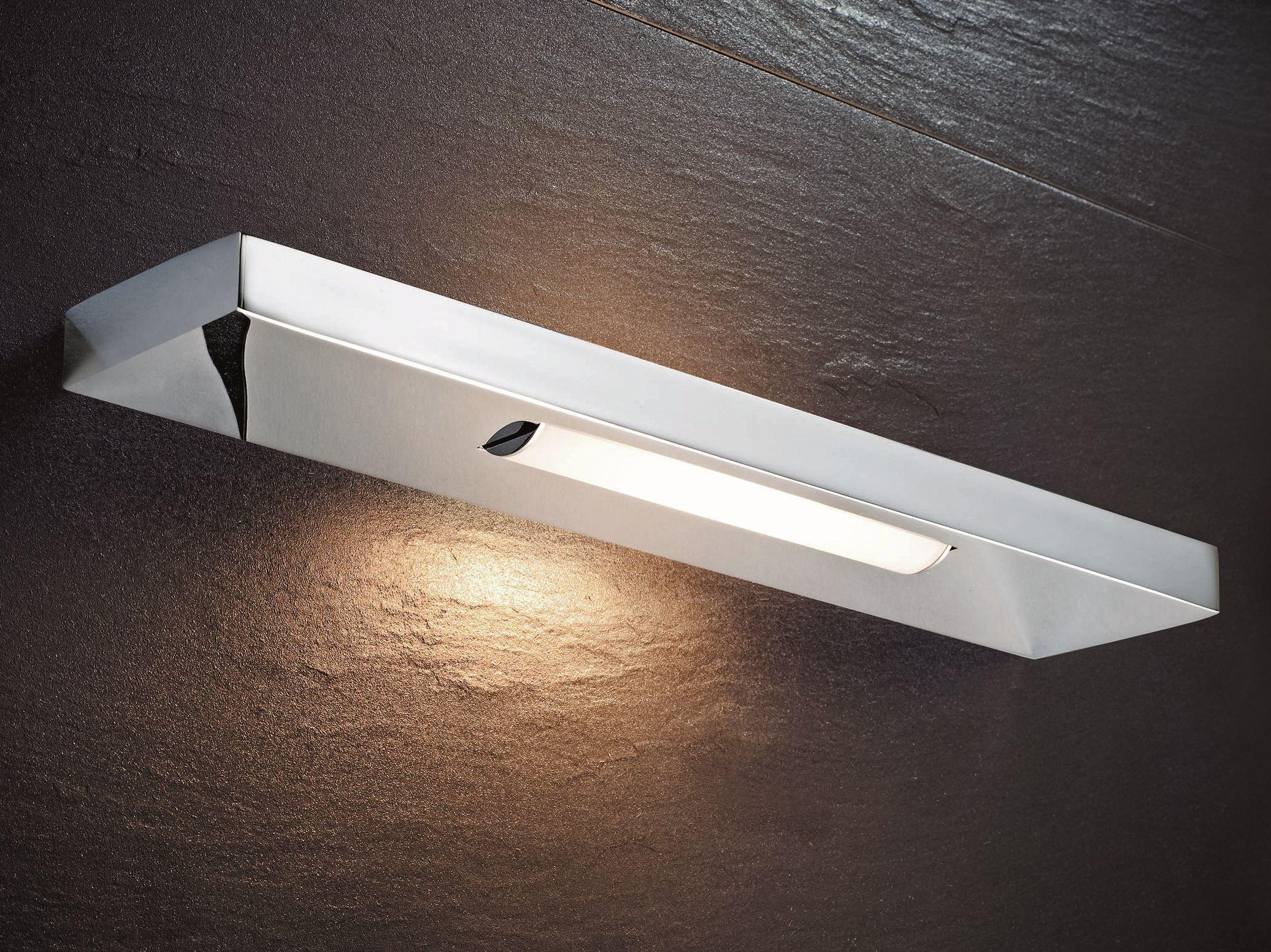 Fotos De Lamparas Para Baño:Lámpara de pared con luz directa para cuartos de baños SLIM by DECOR