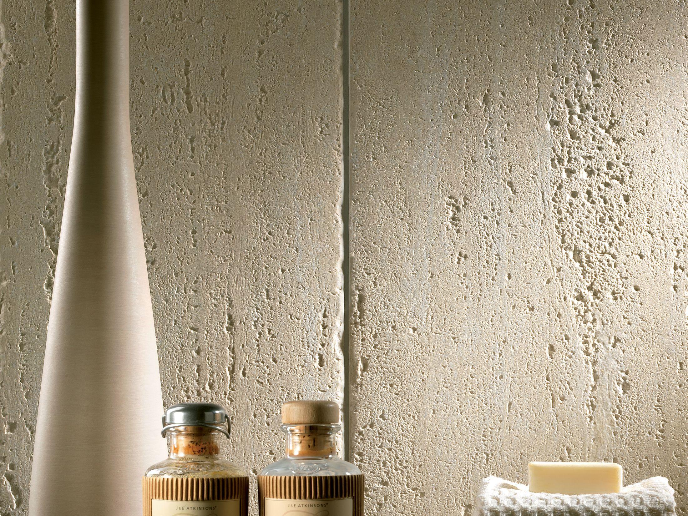 Travertino romano scanalato revestimiento de pared by ceramiche coem - Revestimiento paredes imitacion piedra ...