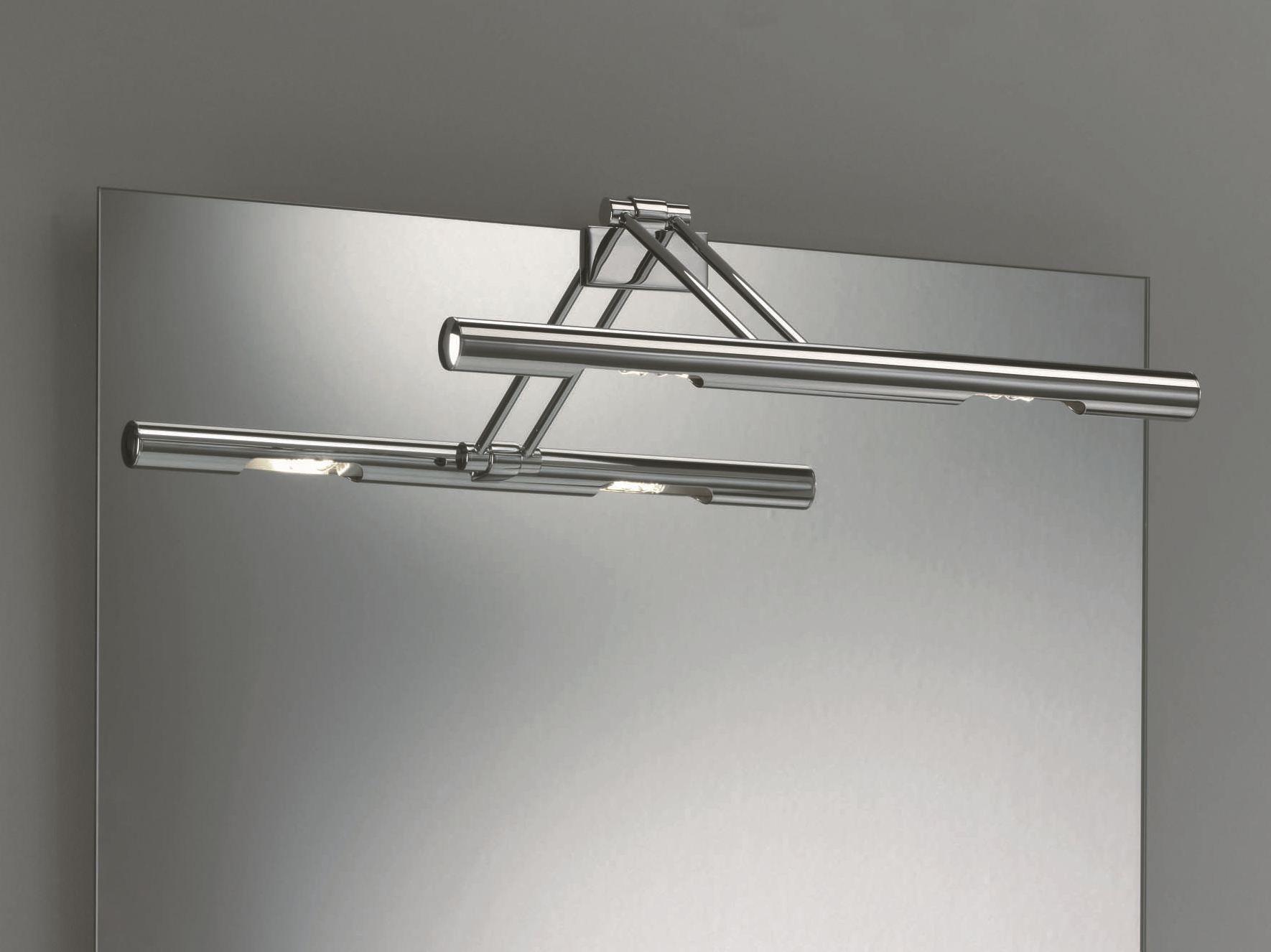 lampade da specchio in metallo cromato | archiproducts - Luce Specchio Bagno