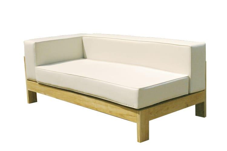 Saint raphael divano da giardino componibile by il for Divano esterno legno