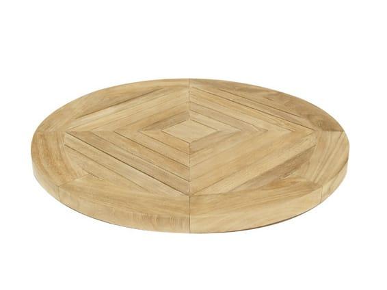 Lazy susan vassoio in teak by il giardino di legno - Il giardino di legno ...