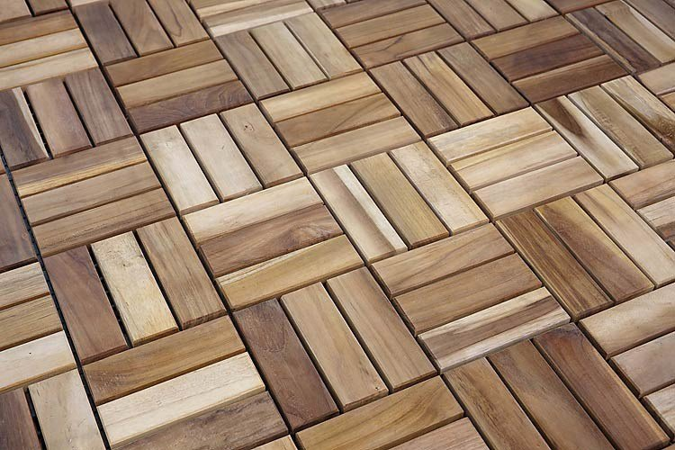 Tiles teak outdoor floor tiles by il giardino di legno for Exterior floor tiles