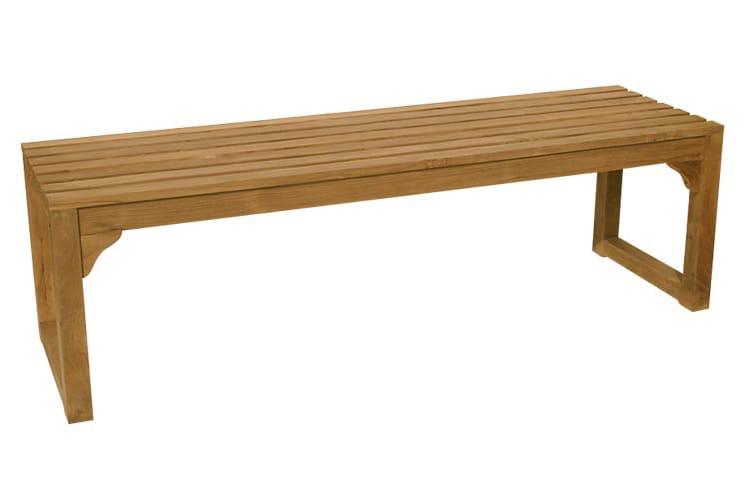 Classica panca da giardino by il giardino di legno for Panche contenitori da esterno