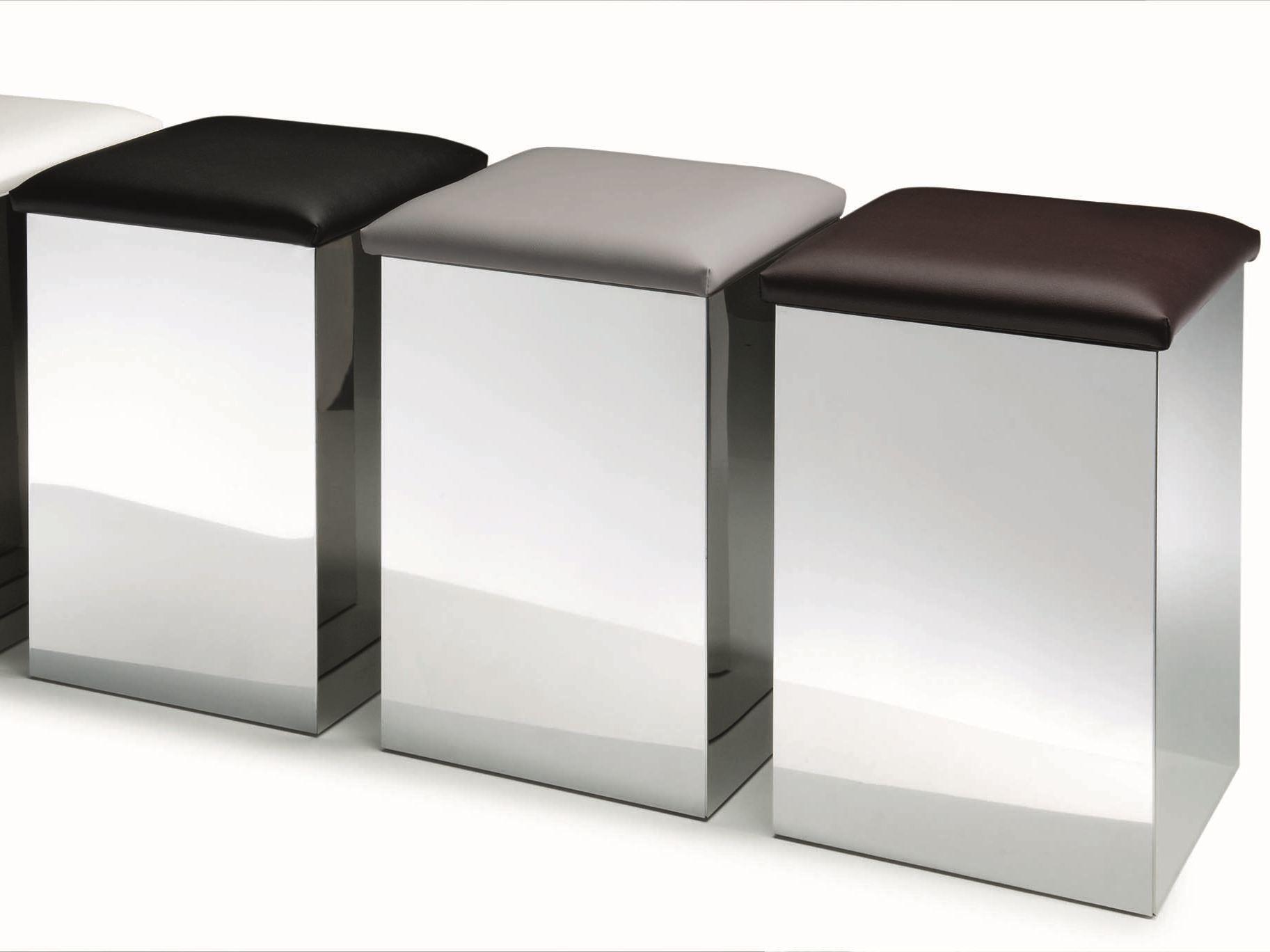 Portabiancheria in acciaio case hk 1 by decor walther - Portabiancheria design ...