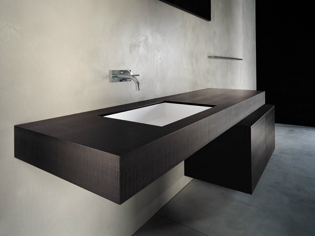 BLOCK2 Vanity unit with doors by Moab 80 design Gabriella Ciaschi, Studio Moab