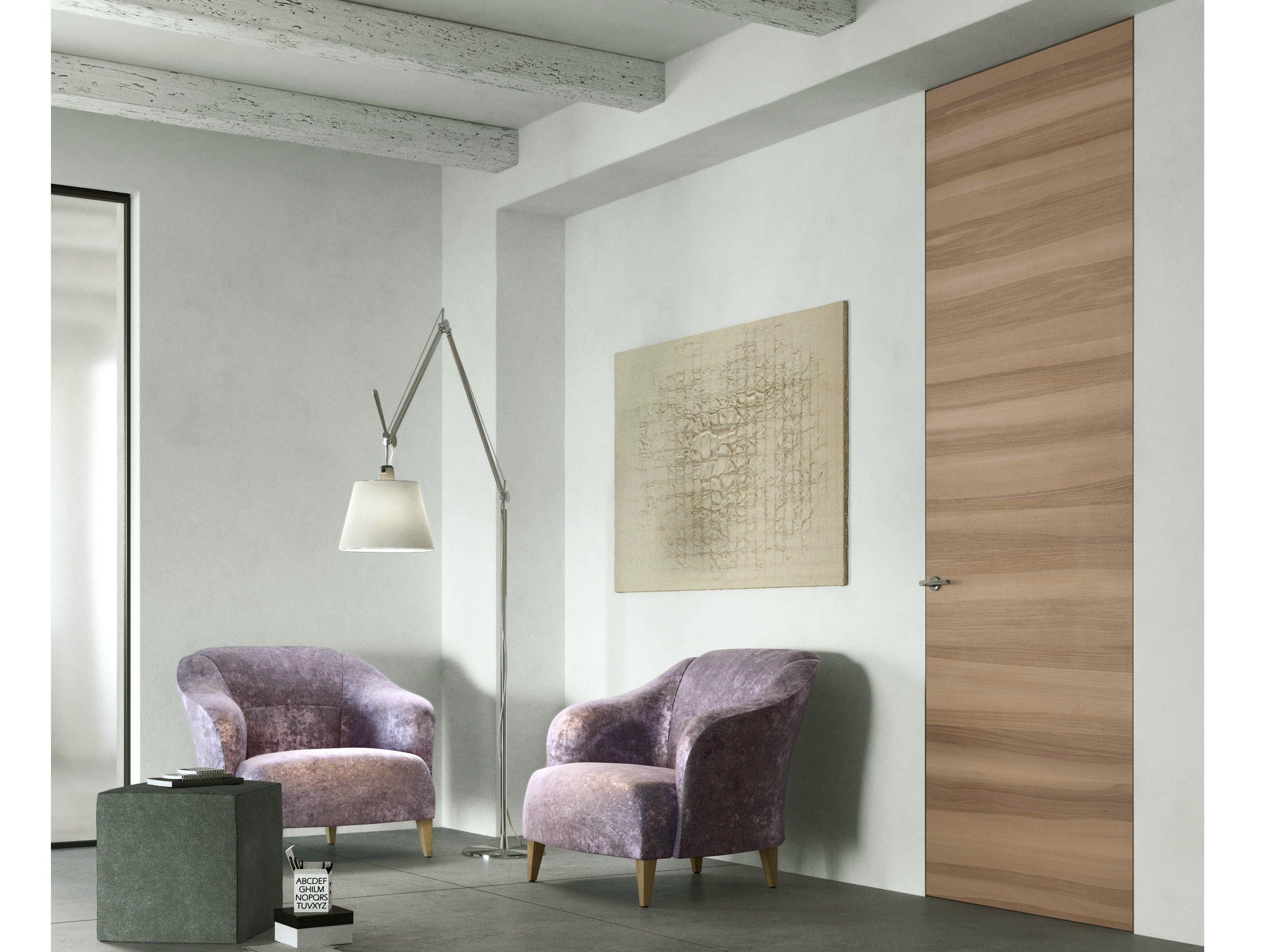 Porta a filo muro in legno exit zero by ferrerolegno - Ferrero legno listino prezzi ...