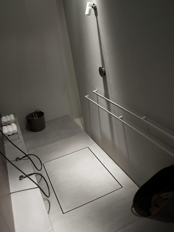 Prefinito cemento piatto doccia by moab 80 - Piatto doccia incassato nel pavimento ...