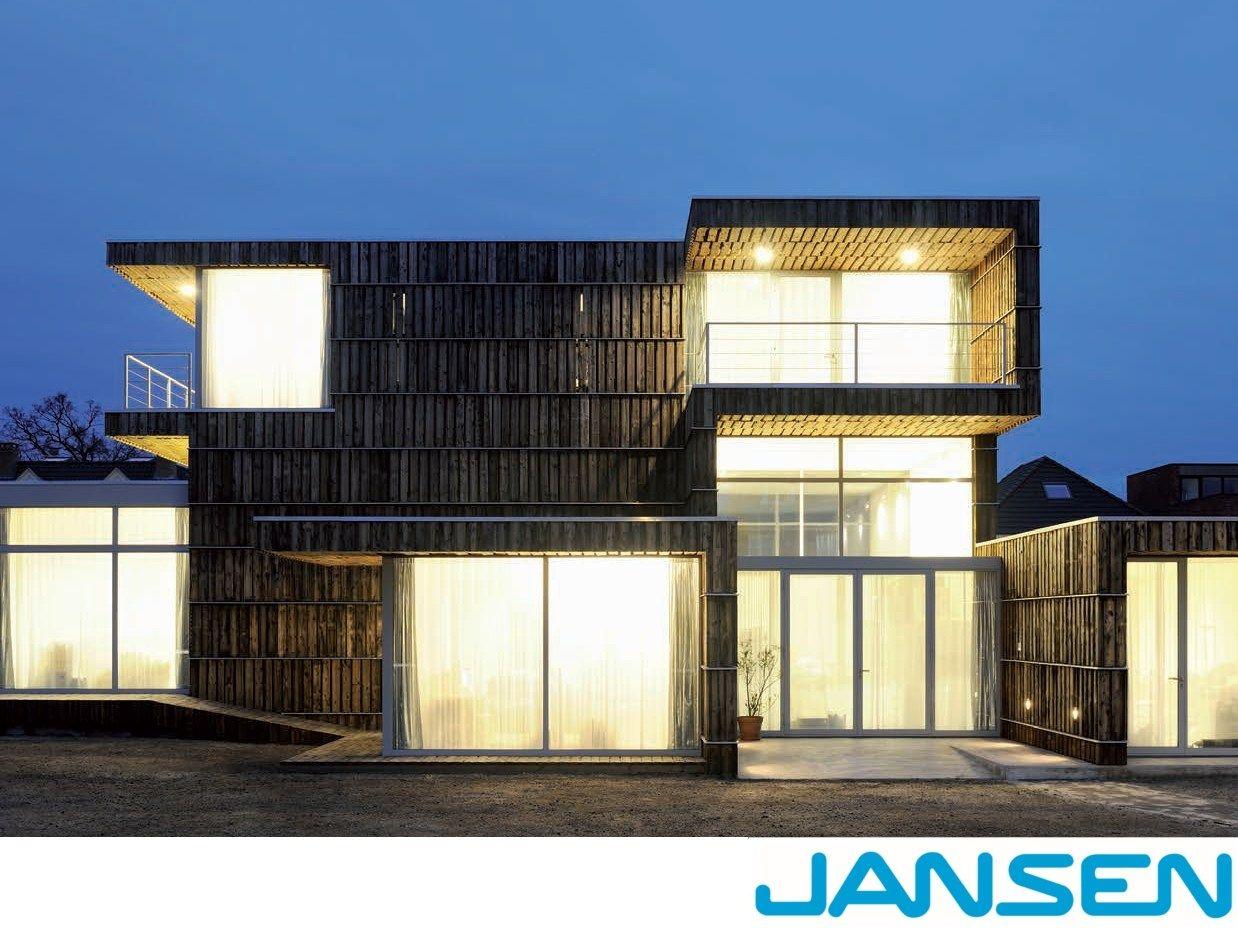 Fenster aus stahl mit thermischer trennung janson janisol for Fenster jansen