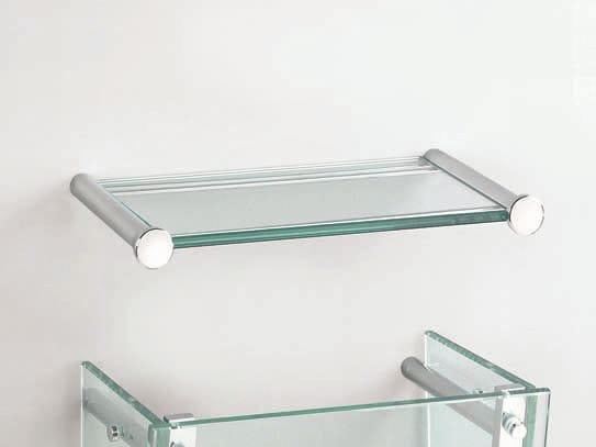 Tablette salle de bain en verre solutions pour la for Tablette de verre salle de bain