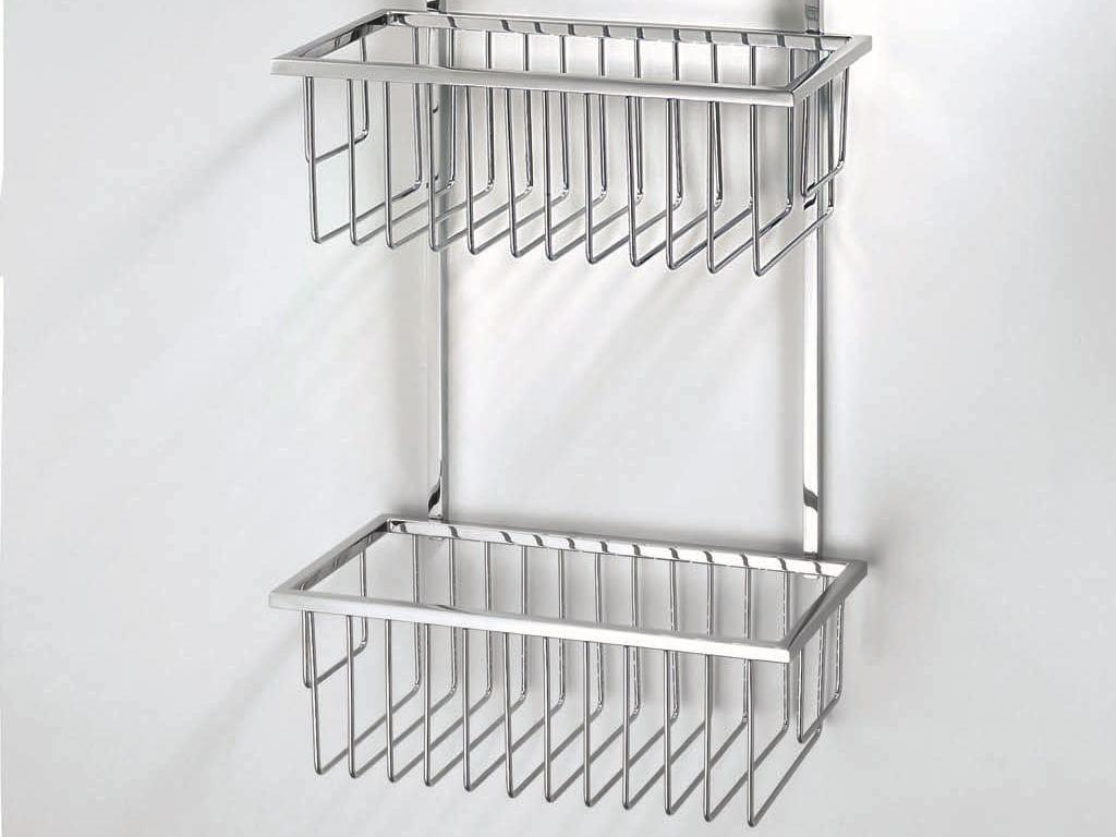 Porte savon en metal chrom pour douche wa hgk 1 by decor - Porte savon douche suspendu ...