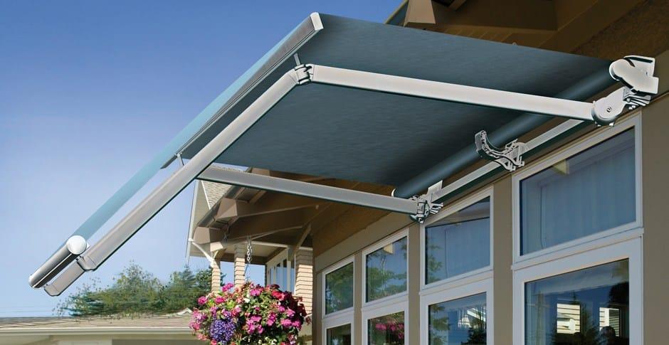 Tenda da sole a bracci grandangolo gold by ke outdoor design for Tende x esterno