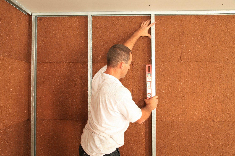 Panneau thermo isolant en fibre de bois sylvactis 55 fx by for Isolant mur interieur