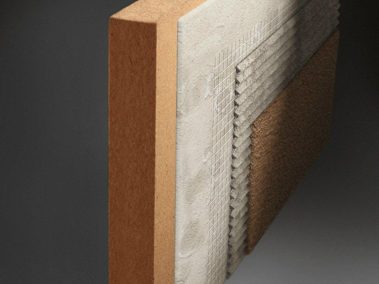 Panneau thermo isolant en fibre de bois sylvactis 140 sd for Isolant fibre de bois