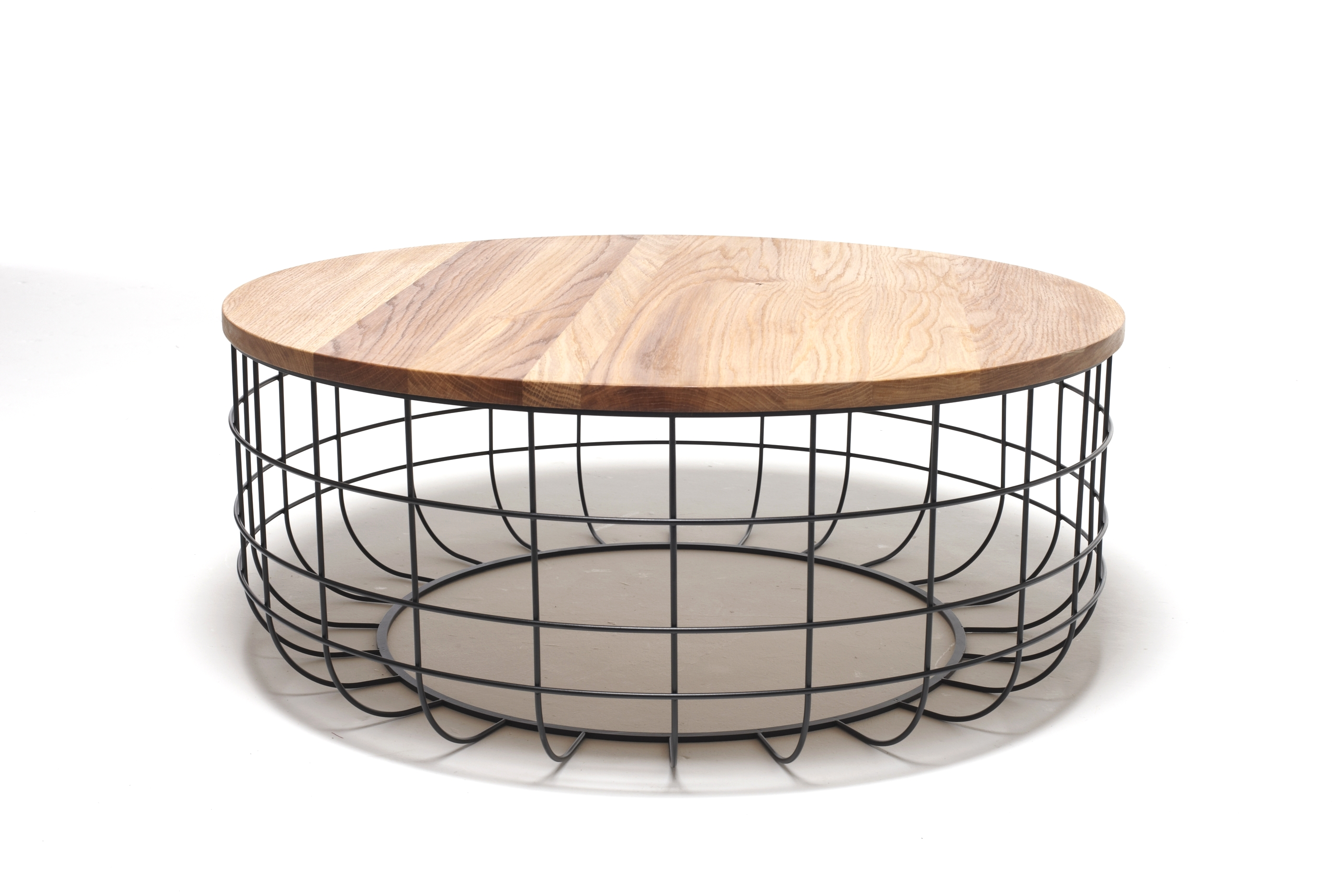 Wire low coffee table by dare studio design sean dare for Wire coffee table