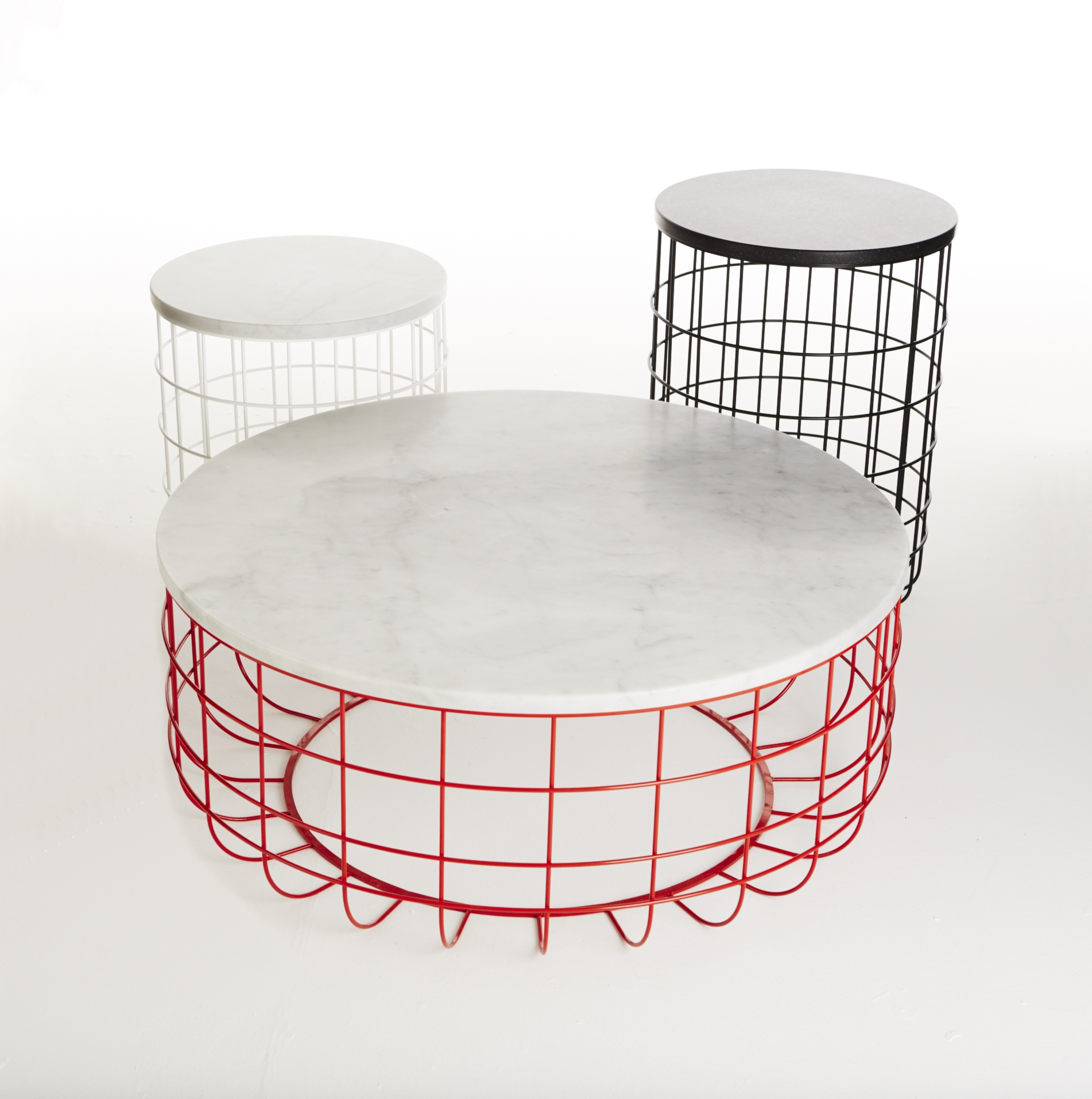 WIRE Low Coffee Table By Dare Studio Design Sean Dare