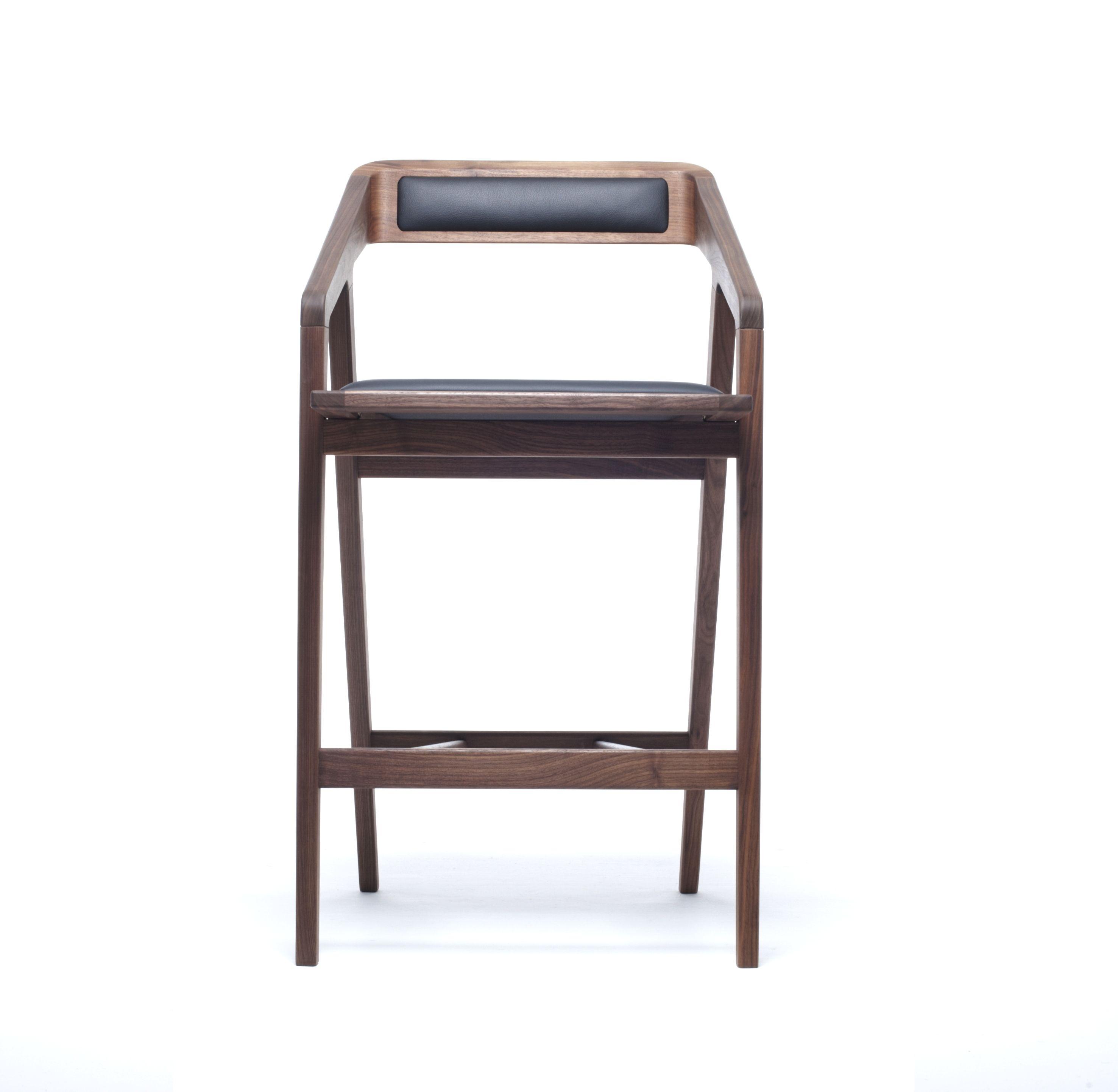 katakana | tabouret by dare studio design sean dare - Chaise Bar Avec Accoudoir
