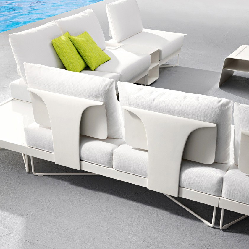 Coral Reef Sectional Garden Sofa By Roberti Rattan