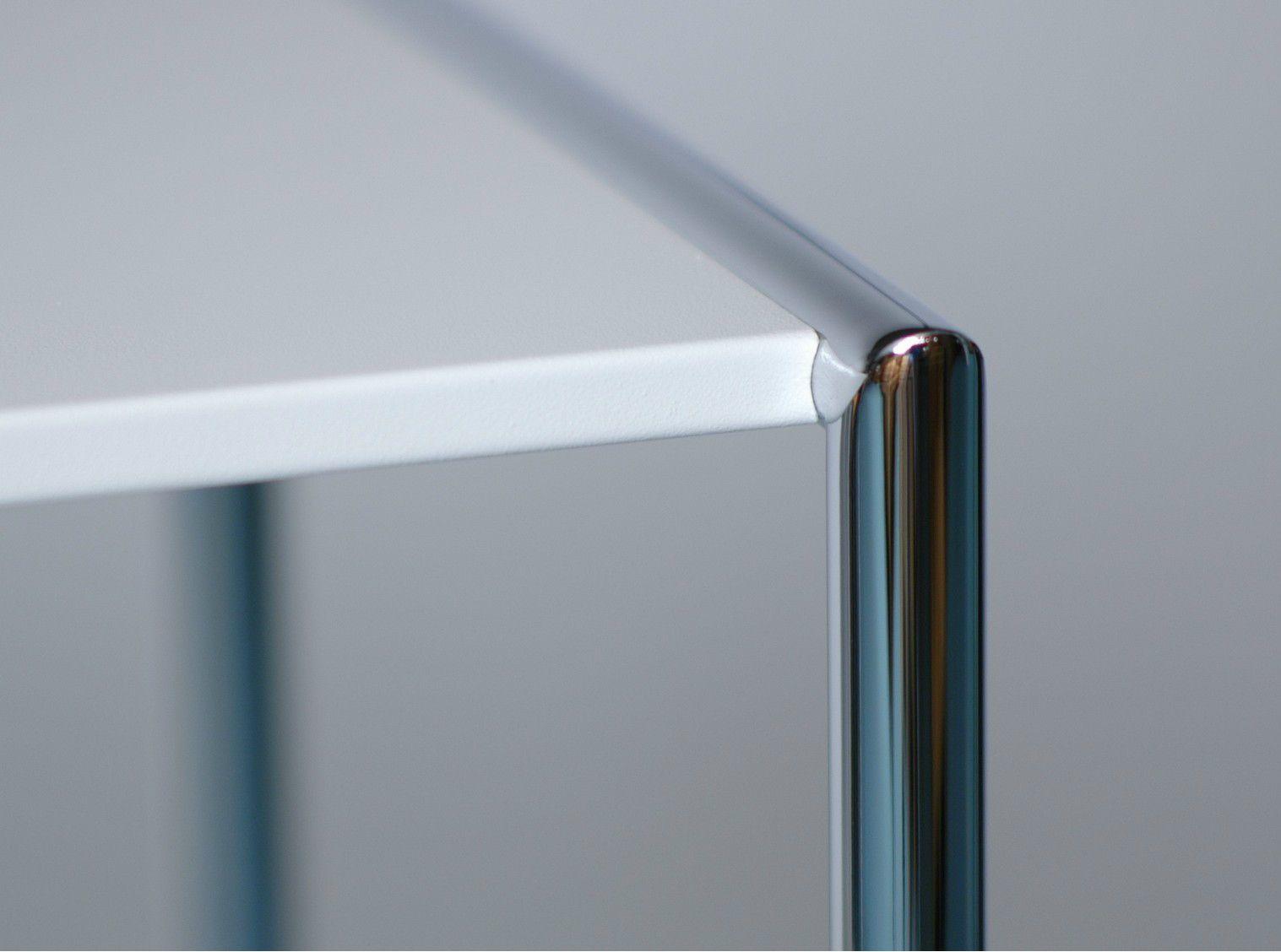 Regal aus pulverbeschichtetem stahl pool 78 by mox design for Pool aus stahl