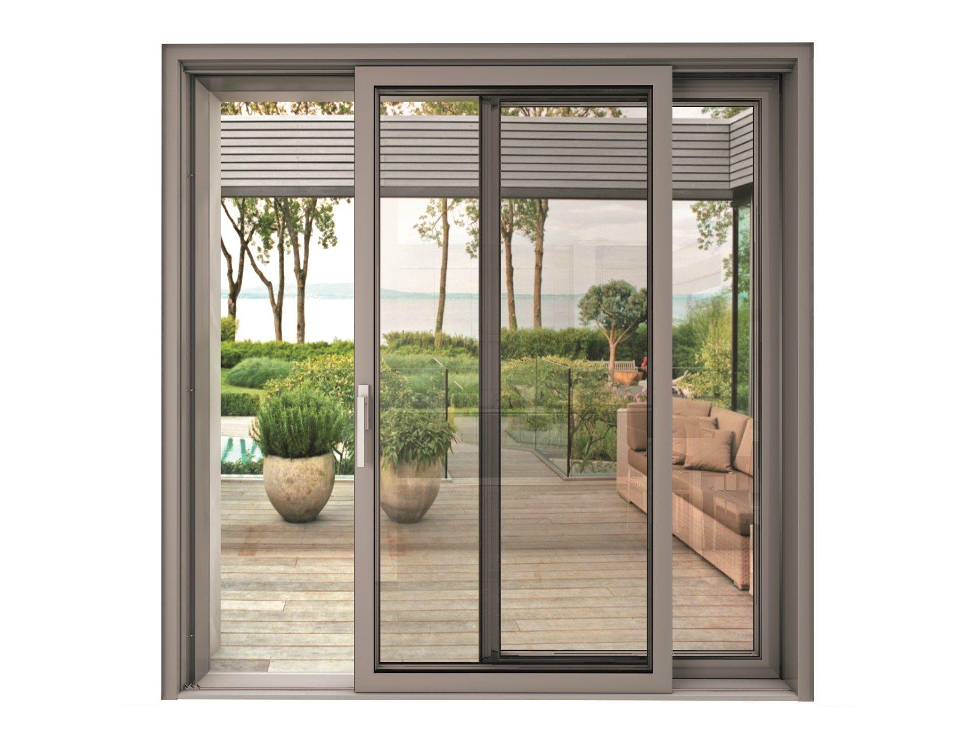 Blindoklima steel finestra scorrevole by sl di sabatino - Porta finestra scorrevole ...