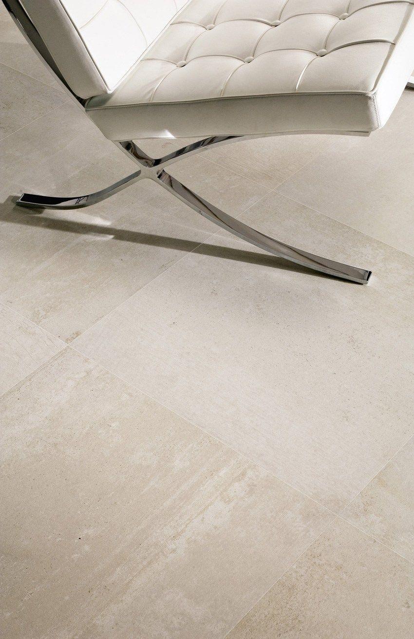 Pavimento in gres porcellanato effetto resina resine blanc for Pavimento in resina 3d