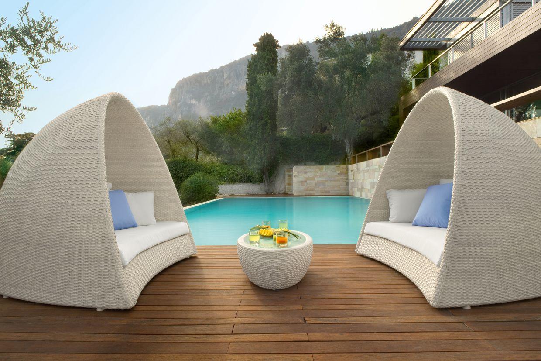 igloo sof de jardim by roberti rattan design studio balutto associati. Black Bedroom Furniture Sets. Home Design Ideas