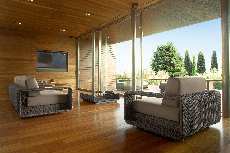 Hamptons divano da giardino a 3 posti by roberti rattan for Divani x giardino