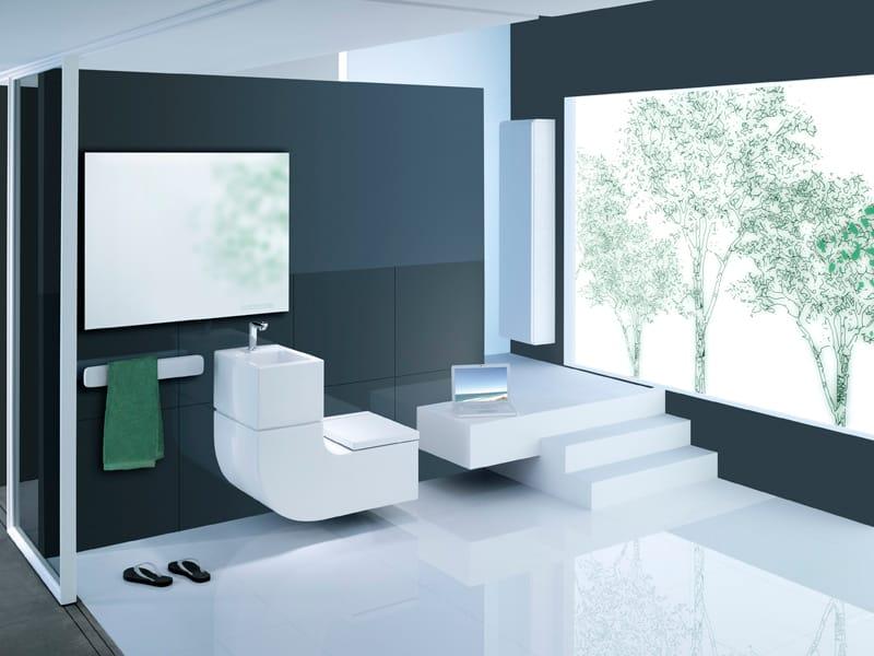 Lavabo wc w w by roca sanitario design buratti architetti for Roca sanitari