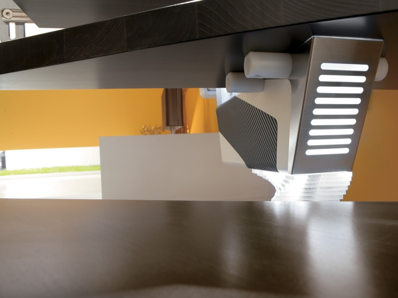 Escalier ouvert limon central knock design by rintal - Escalier ouvert ...