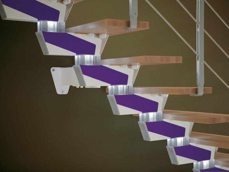 Scala a giorno con cosciale centrale knock design by rintal - Rintal scale forli ...